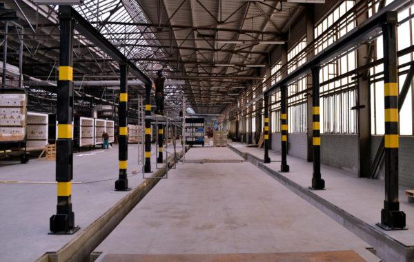Stavební úpravy výrobní haly