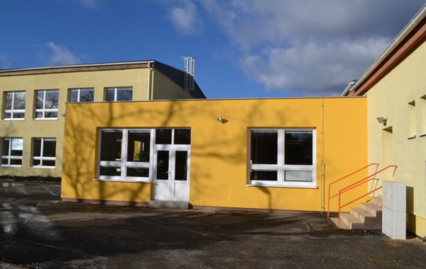 Přestavba školky